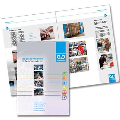 DD Kabelkonfektion-Faltblätter, Flyer, Prospekte-Werbeagentur-Priss