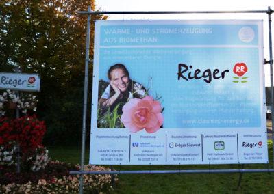 Begonien Rieger Werbebanner-Werbeagentur-Priss