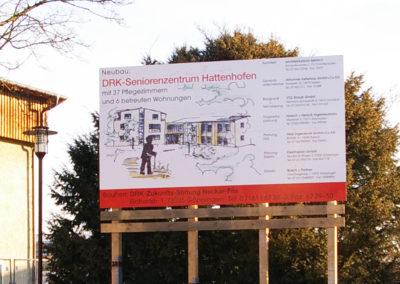 DHK Hattenhofen Bauschild -Werbeagentur-Priss