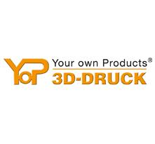 YoP 3D-Druck Logogestaltung, Werbemittel-Werbeagentur-Priss